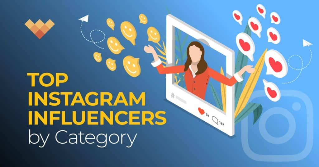 The Top Instagram Influencers by Category