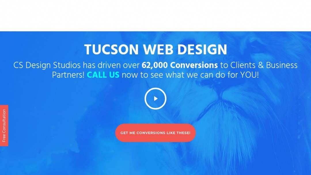 Screenshot of CS Design Studios's Website