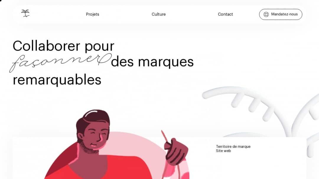 Screenshot of MamboMambo's Website