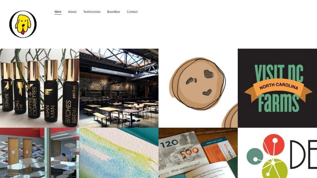 Screenshot of yellowDog : creative's Website