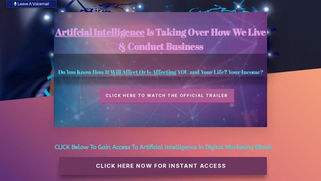 Screenshot of AI Digital's Website