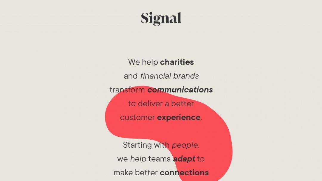 Screenshot of Cello Signal's Website
