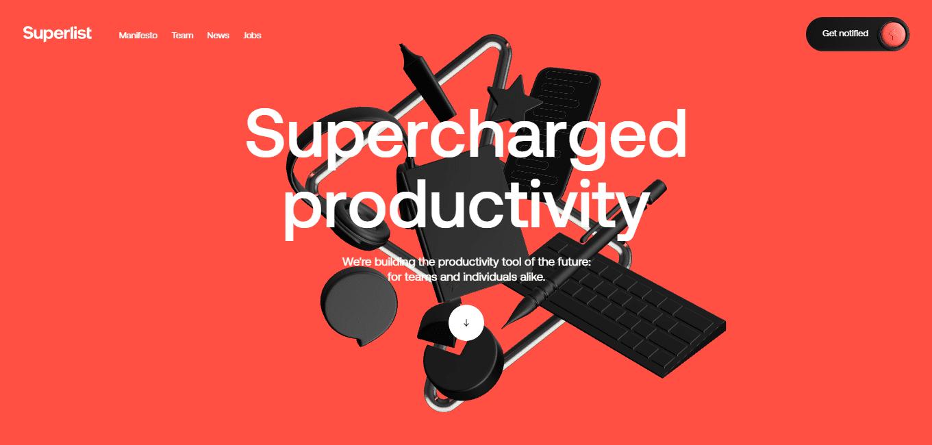 Best Agency Website for Superlist