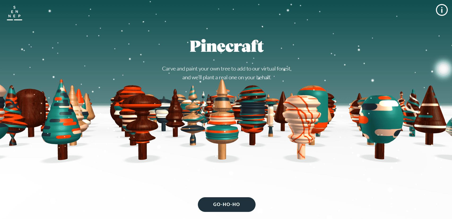 Best Agency Website for Pinecraft
