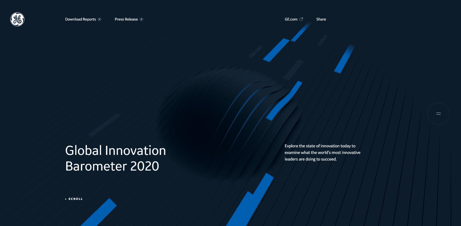 Best Agency Website for GE