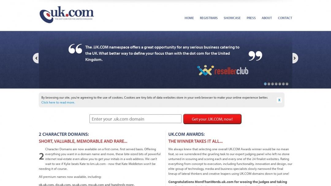 Screenshot of RT Brand Communications's Website