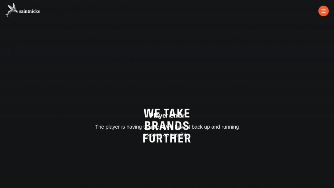 Screenshot of Saintnicks's Website