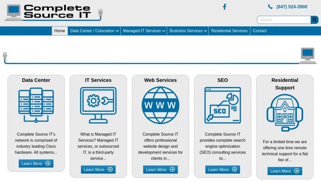 Screenshot of Starpoint Digital LLC's Website