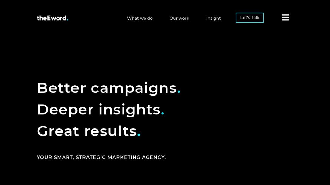 Screenshot of theEword's Website