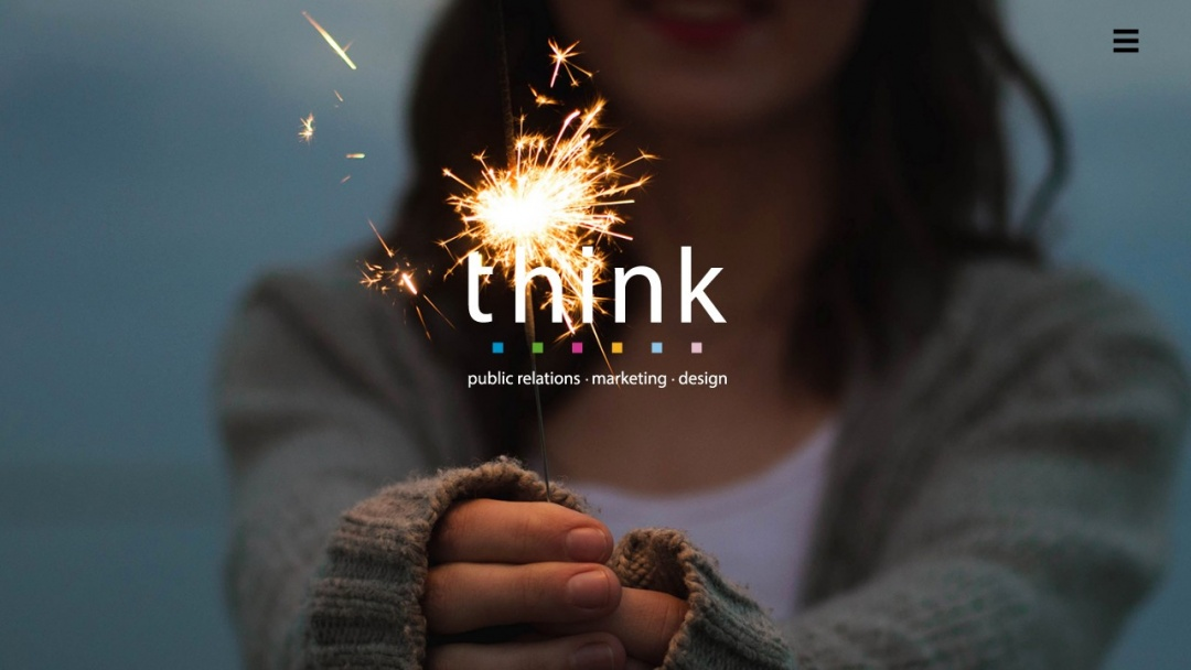 Screenshot of ThinkPR (Scotland) Ltd's Website