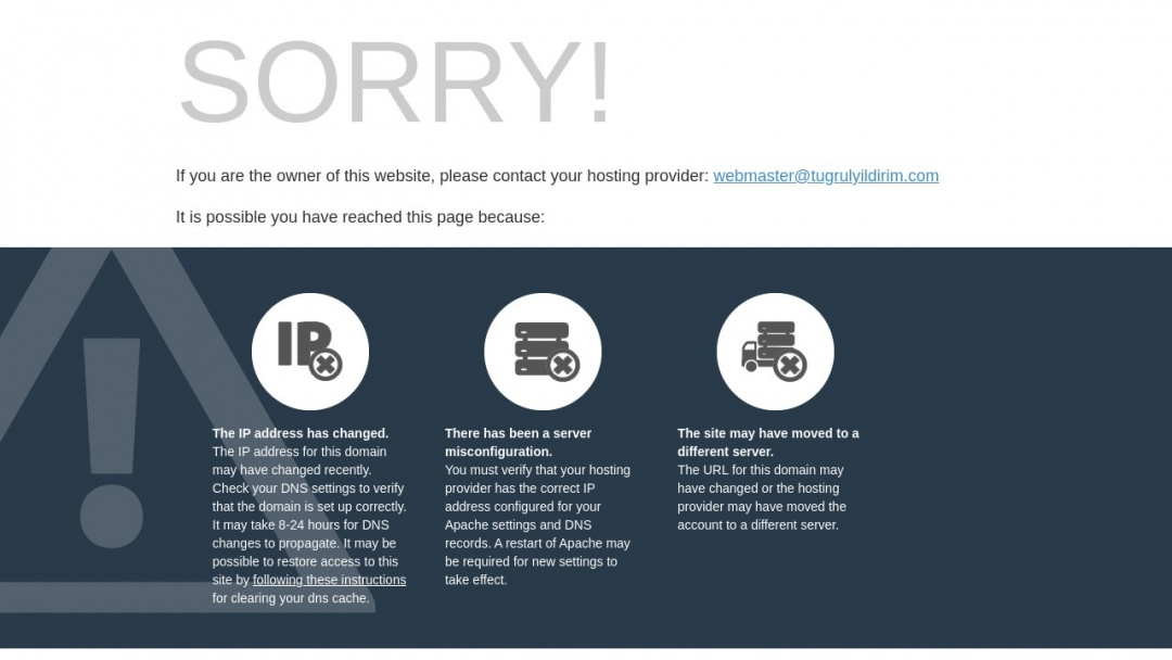 Screenshot of tugrulyildirim.com's Website