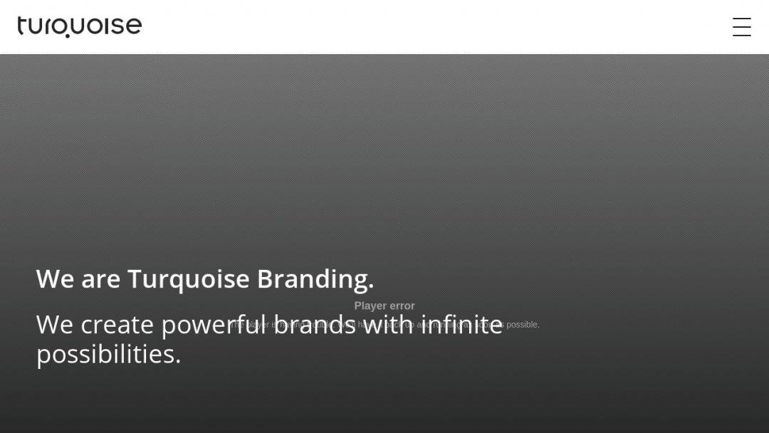 Screenshot of Turquoise Branding's Website