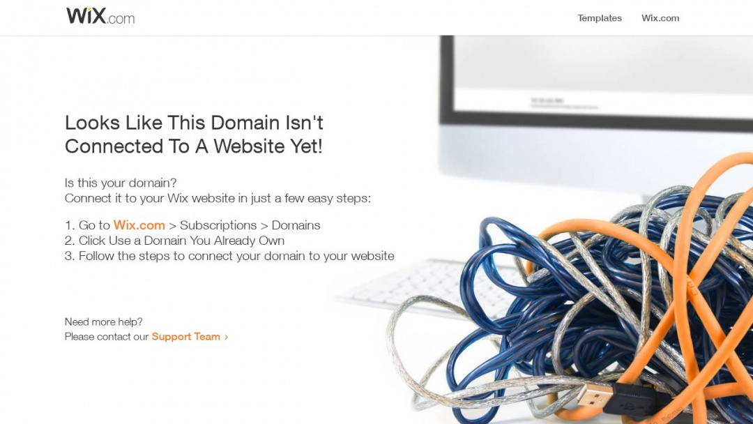 Screenshot of Vipre Marketing's Website