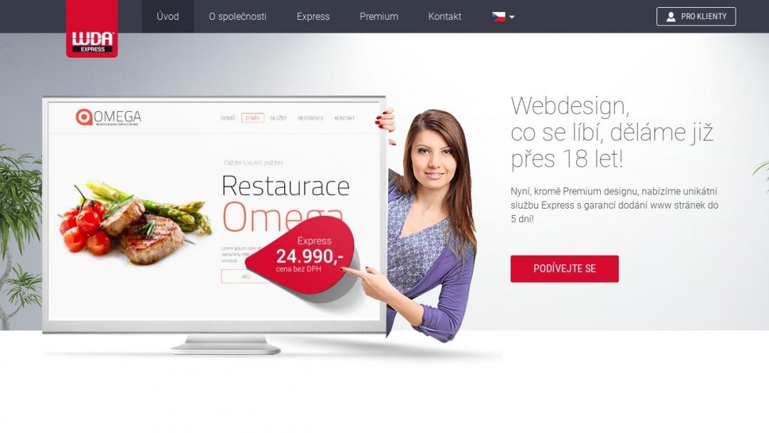 Screenshot of W.D.A. Czech, s.r.o.'s Website
