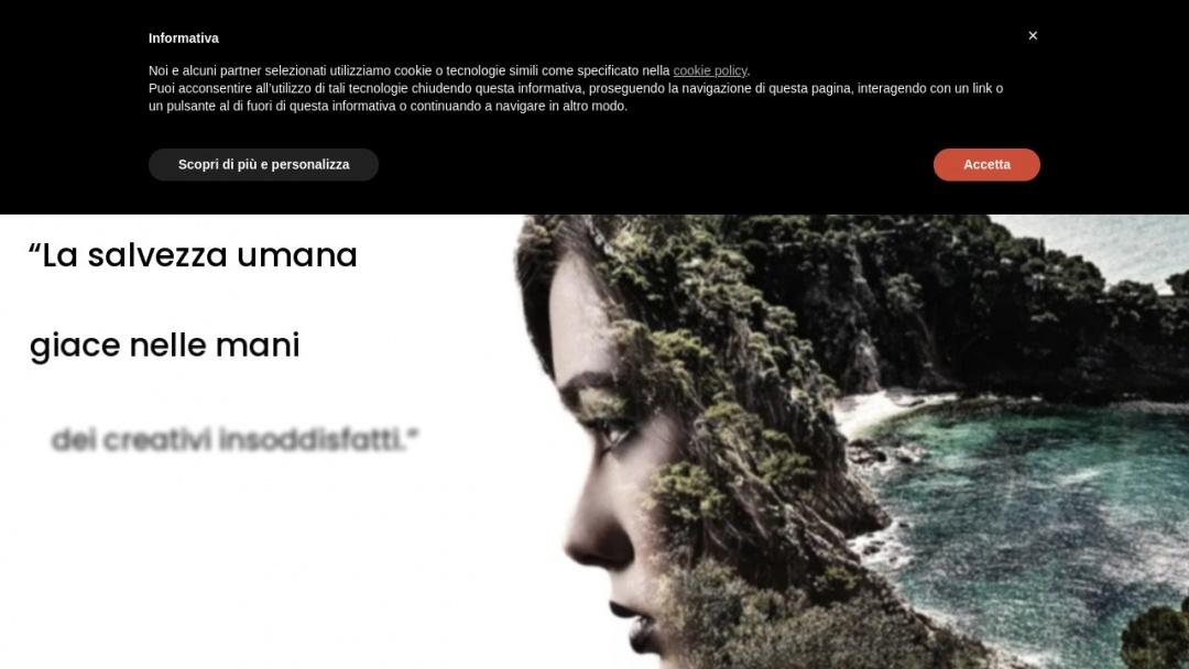 Screenshot of Web Brand's Website