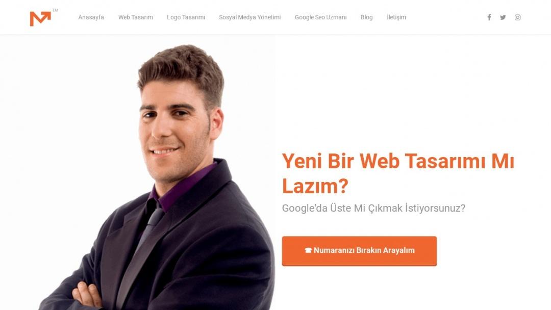 Screenshot of Web Tasarımı Seo Hizmeti's Website