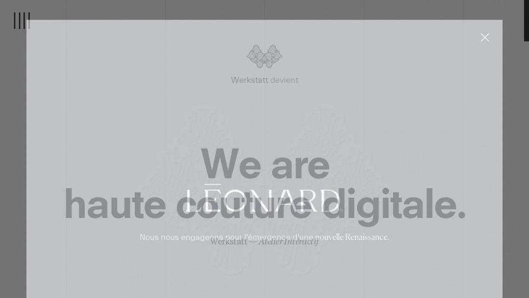 Screenshot of Werkstatt's Website