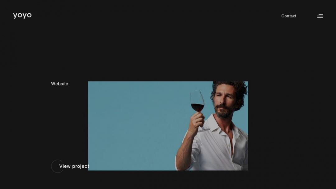 Screenshot of Yoyo Design's Website