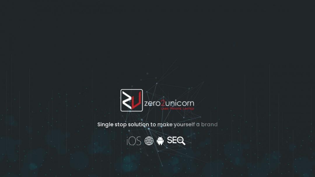 Screenshot of Zero2unicorn Labs Private Limited's Website