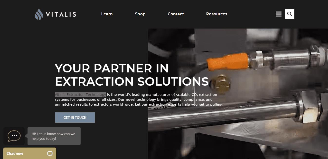Best Manufacturer Website for Vitalis Extraction Technology