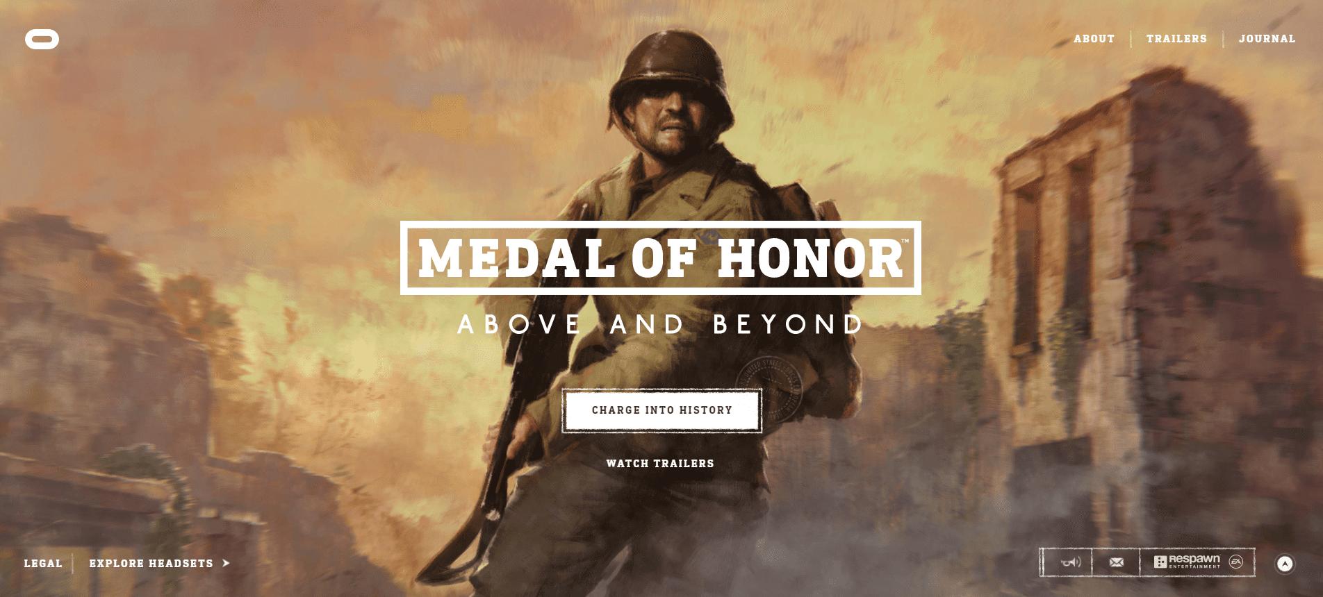 Best Agency Website for Medal of Honor