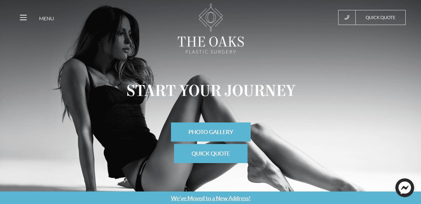 Best Plastic Surgery Website for The Oaks Plastic Surgery