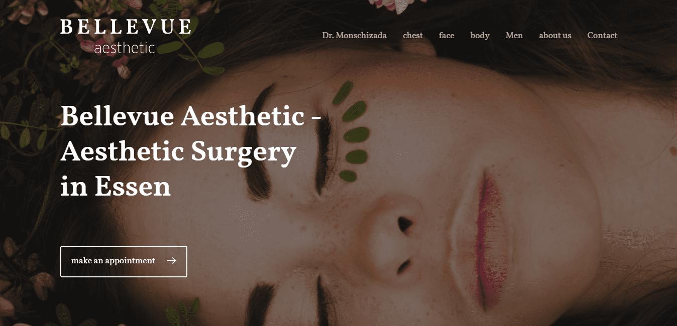 Best Plastic Surgery Website for Bellevue Aesthetic