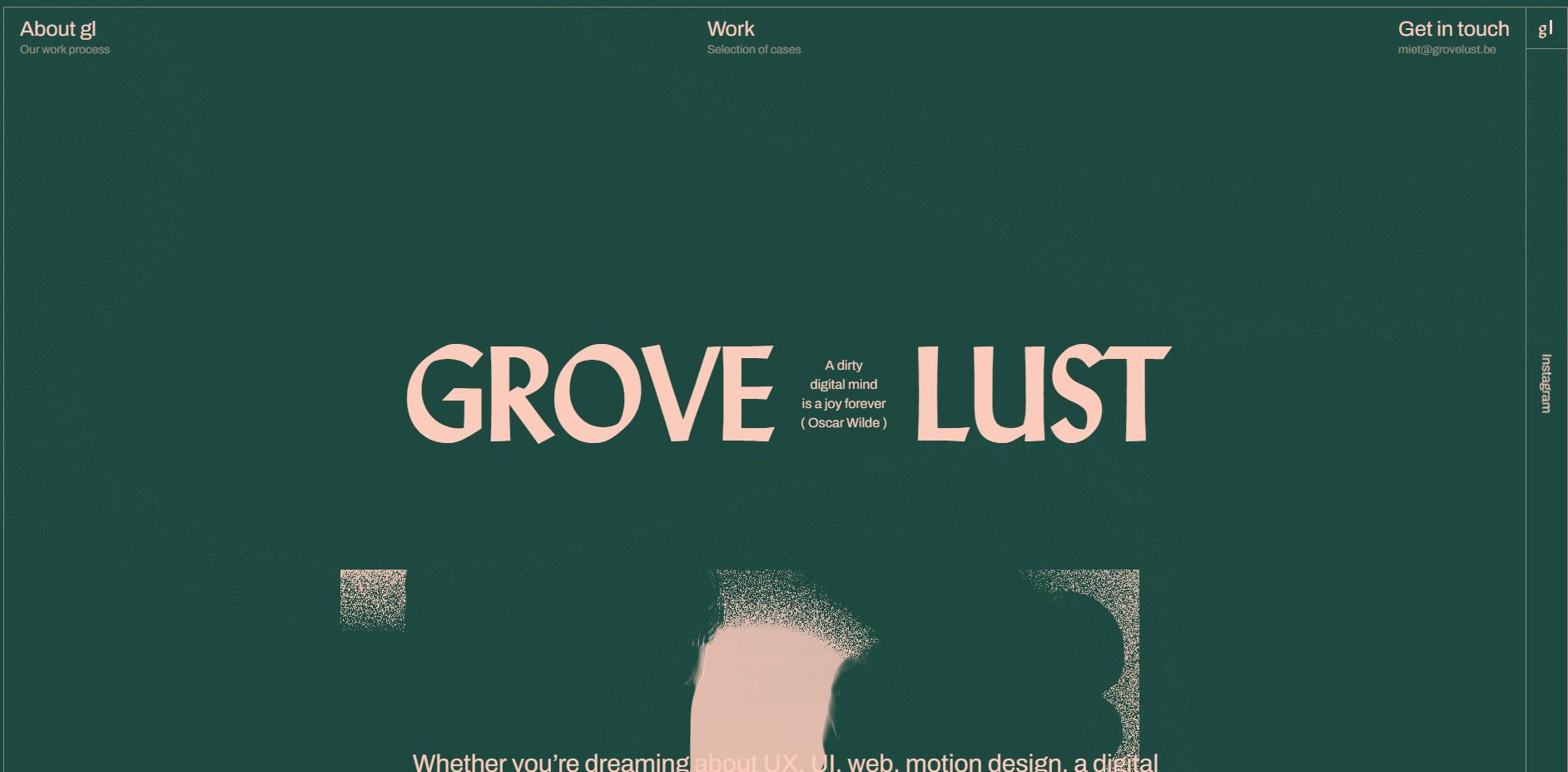 Best Agency Website for GROVE LUST
