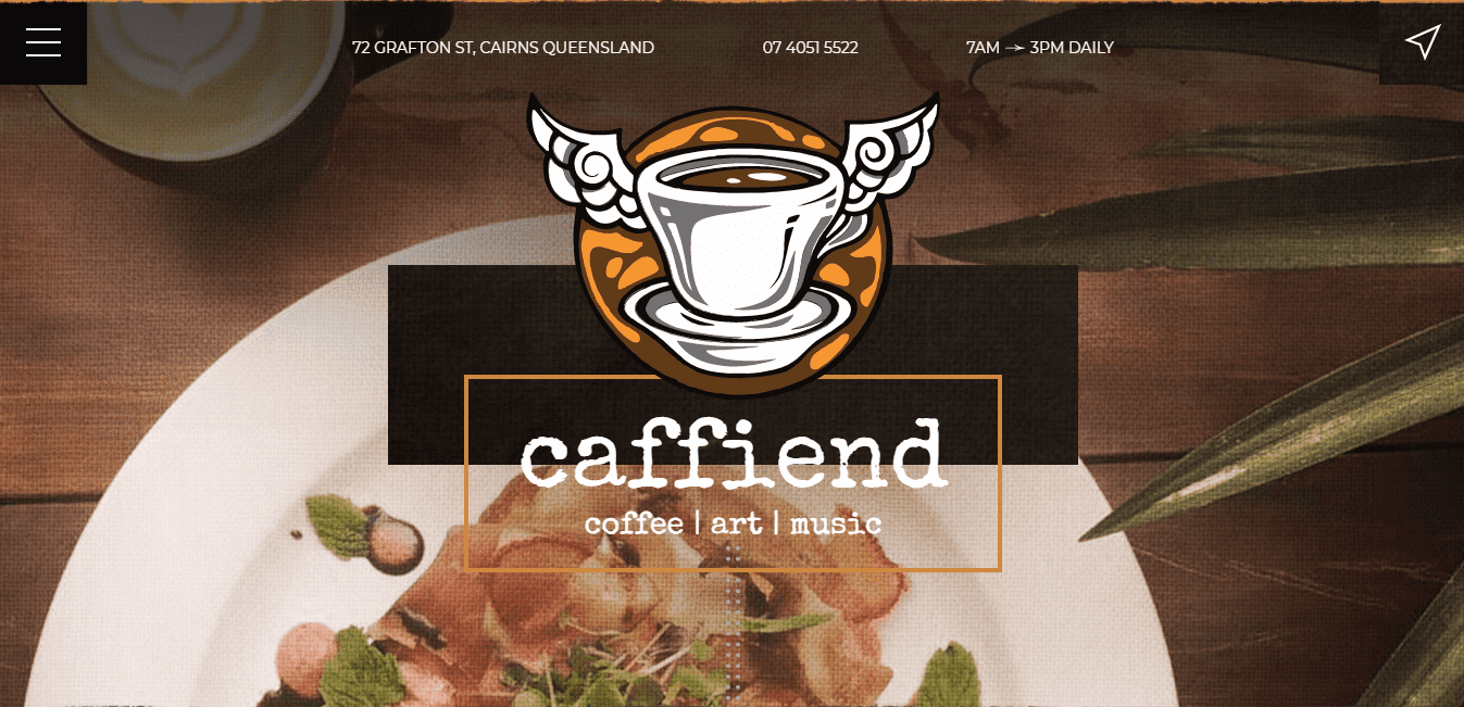Best Professional Service Website for Caffiend