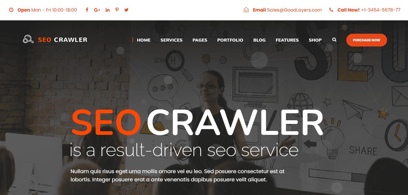 Best SEO Agency Website for SEO Crawler