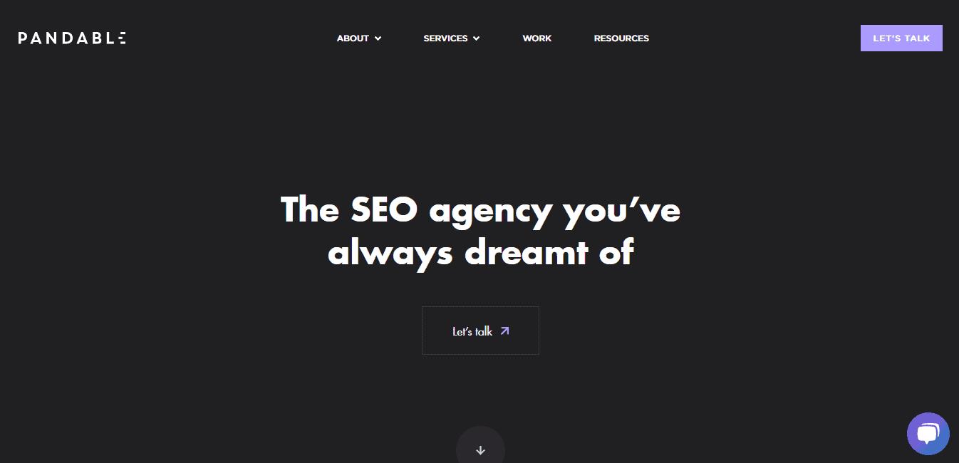 Best SEO Agency Website for Pandable Ltd