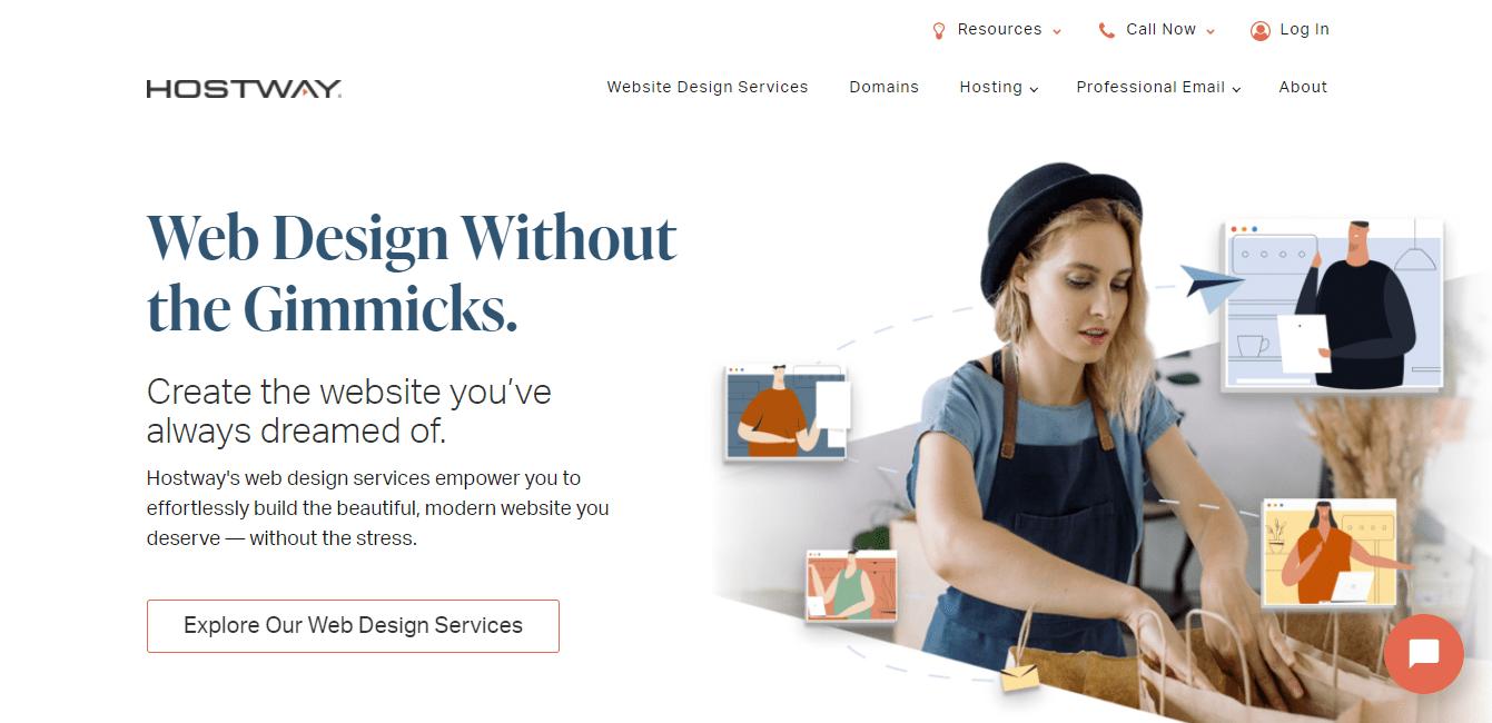 Best Small Business Website for Hostway