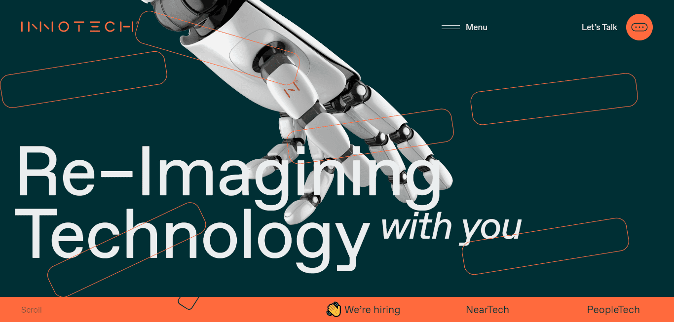 Best Technology Website for Innotech