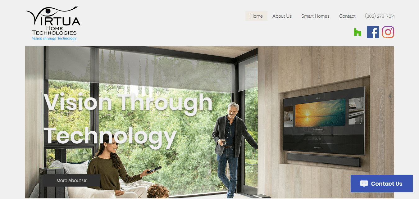 Best Technology Website for Virtua Home Technologies