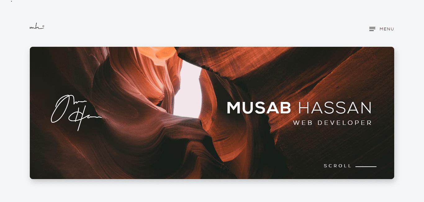 Best Web Development Firm Website for Musab Hassan