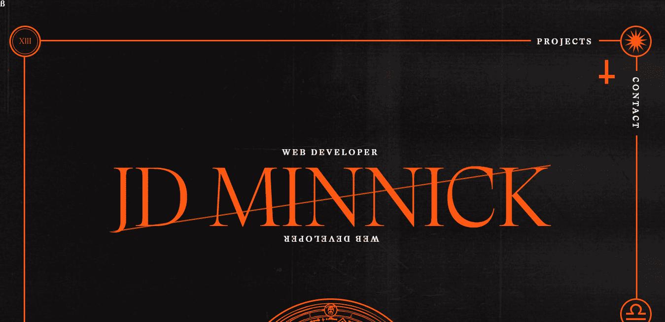 Best Web Development Firm Website for JD Minnick