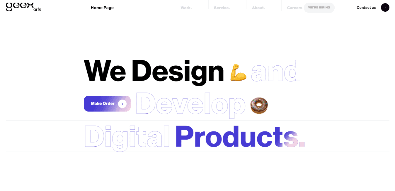 Best Web Development Firm Website for Geex Arts