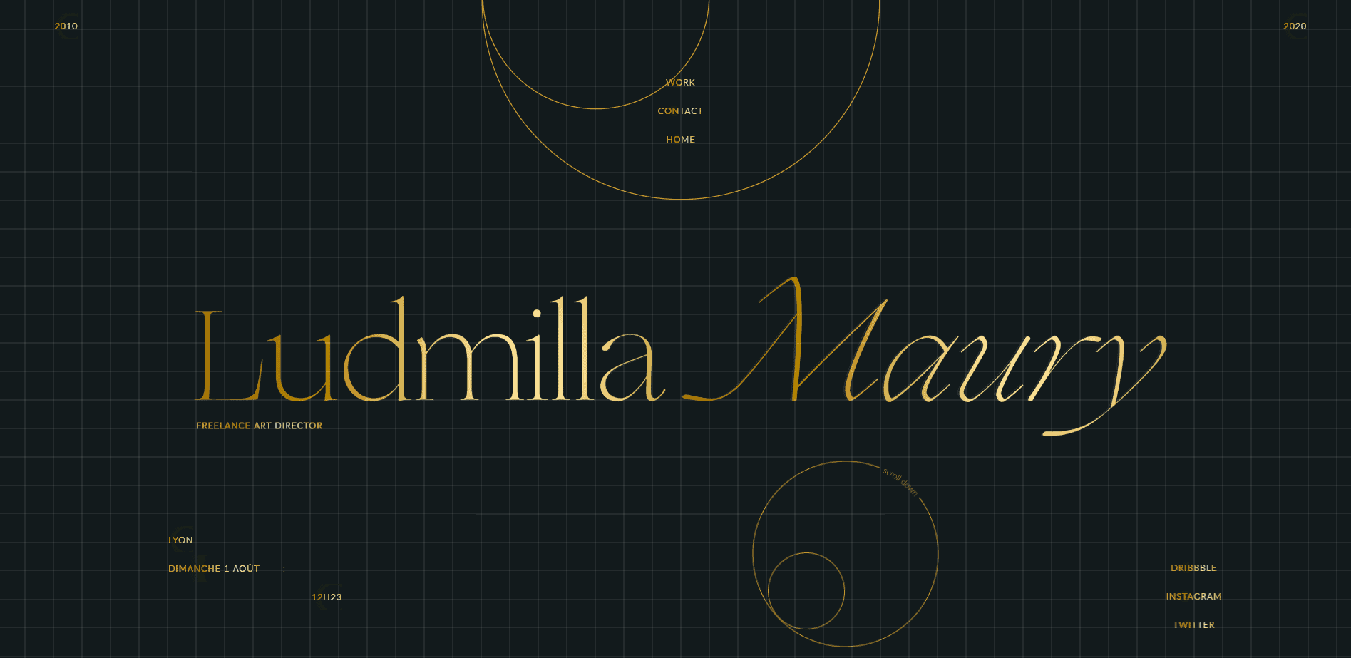 Best Agency Website for Ludmilla Maury