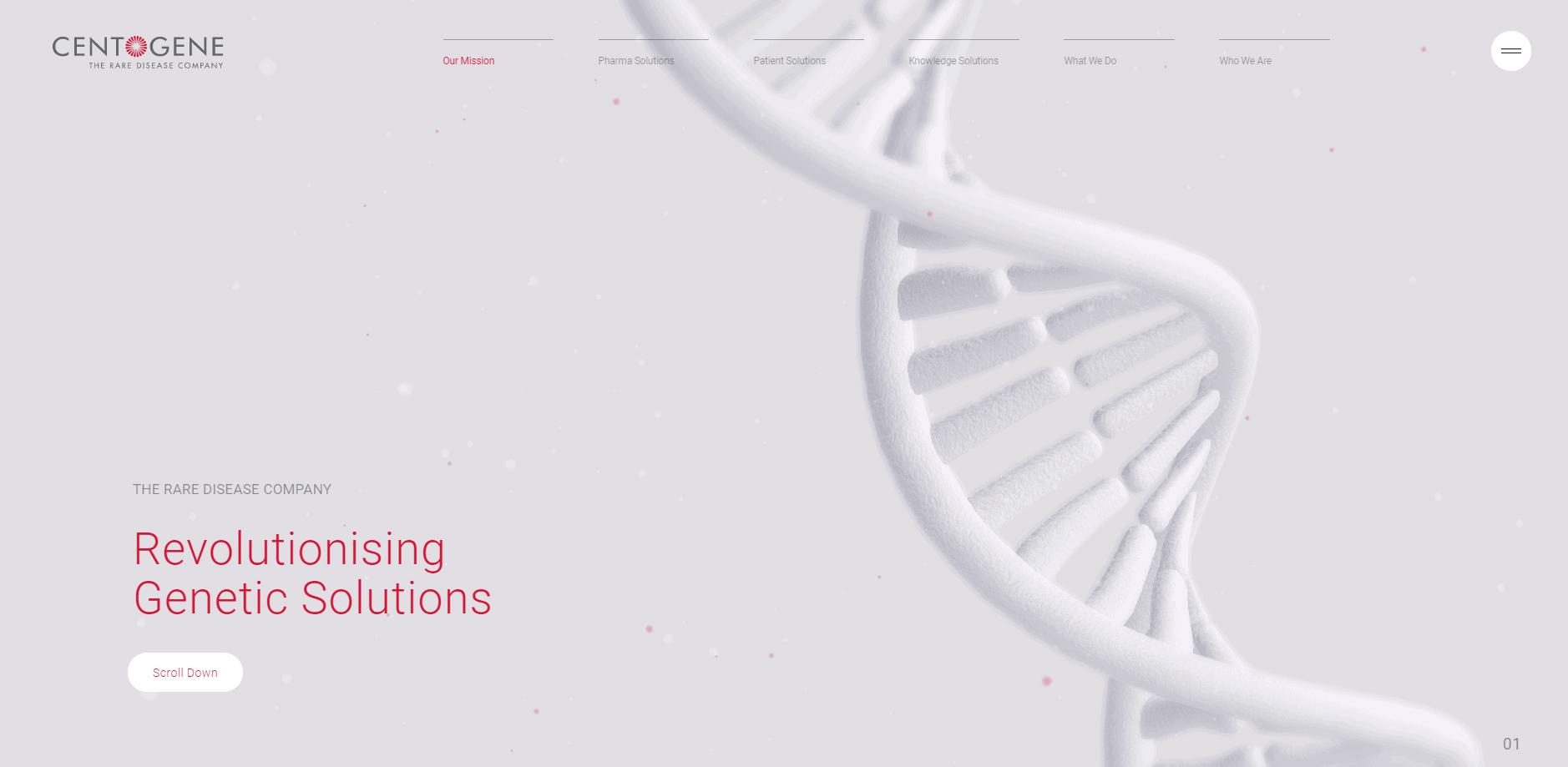 Best Agency Website for Centogene