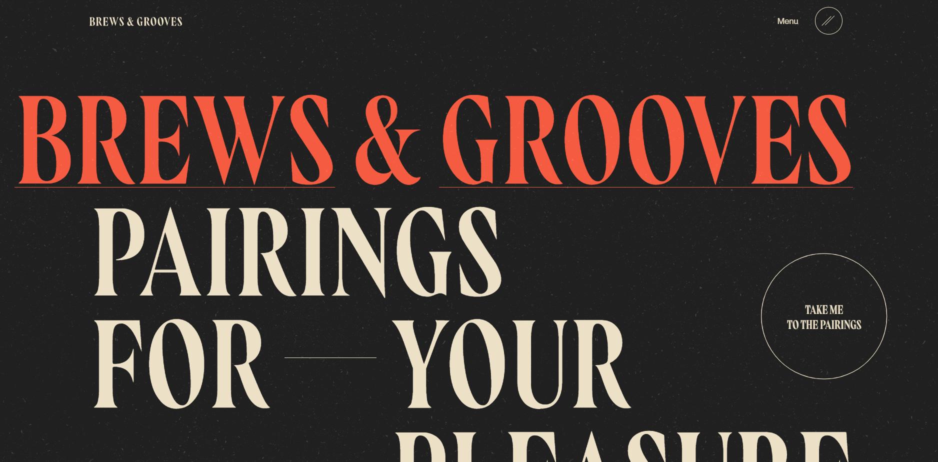 Best Agency Website for Brews & Grooves