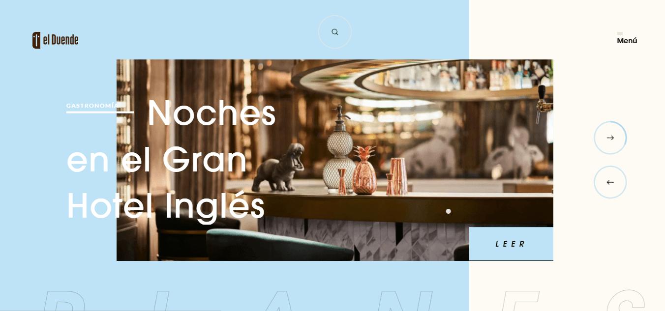 Best Agency Website for Revista El Duende