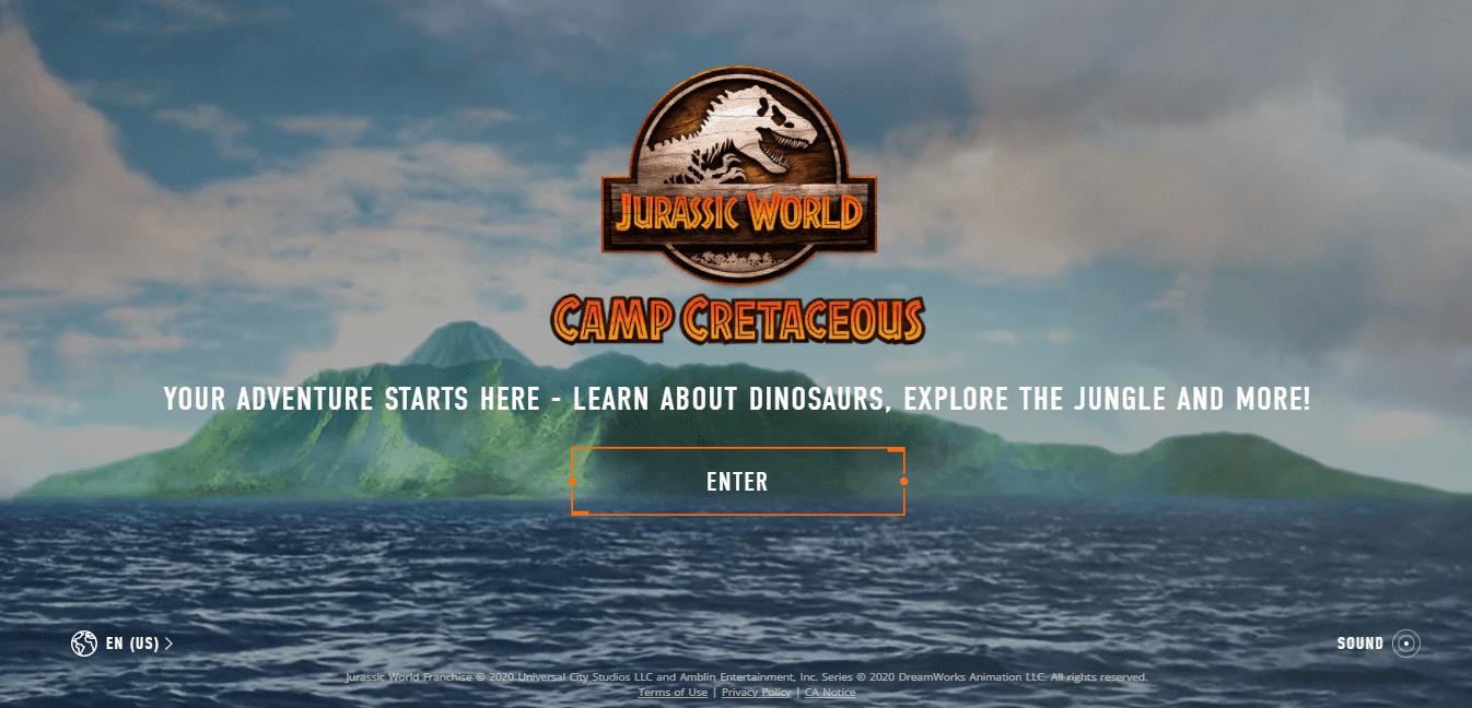 Best Agency Website for Camp Cretaceous