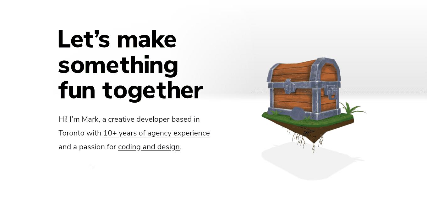 Best Creative Agency Website for Mark Appleby
