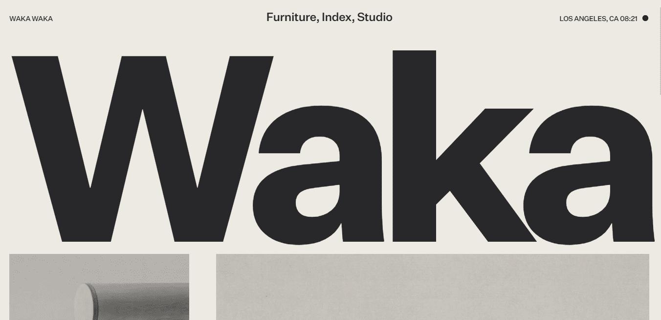 Best Retail Website for Waka Waka