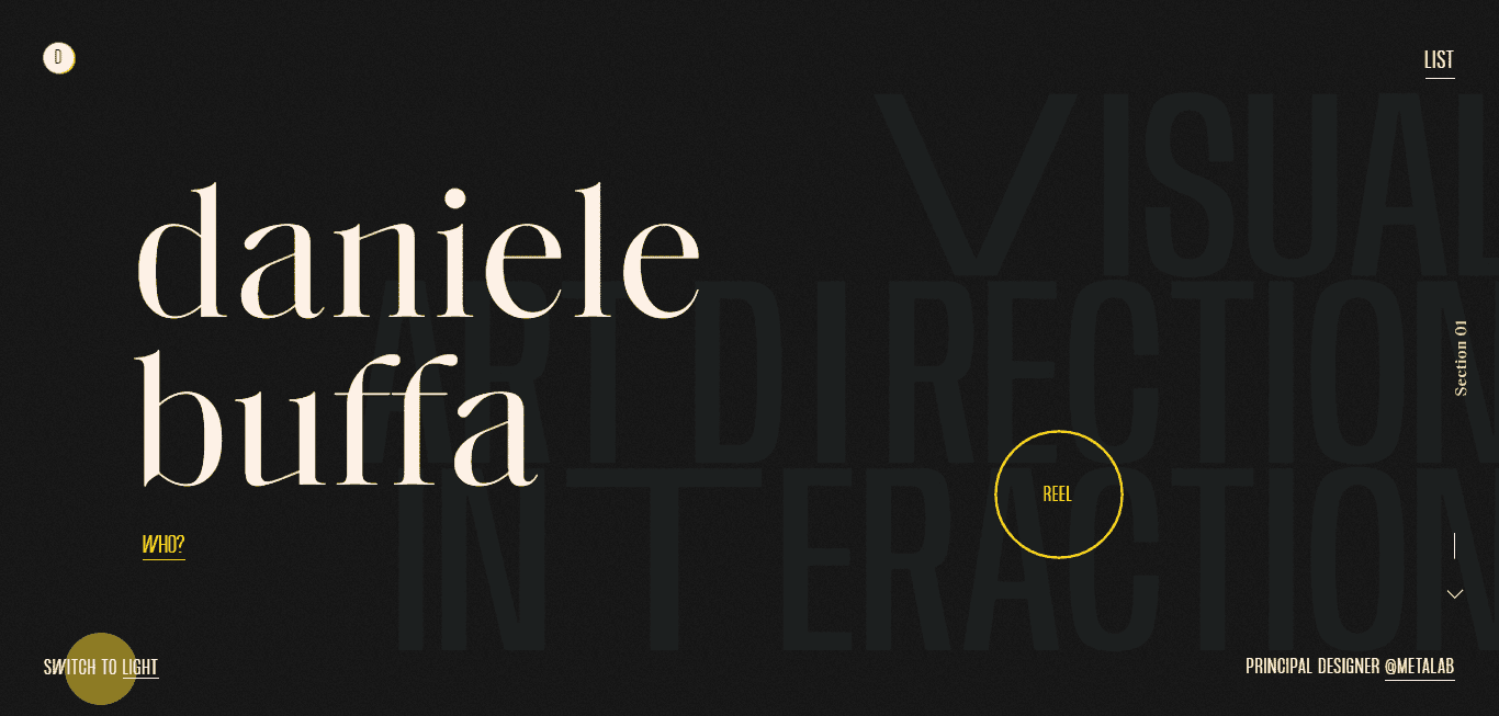 Best Contractor Website for Daniele Buffa