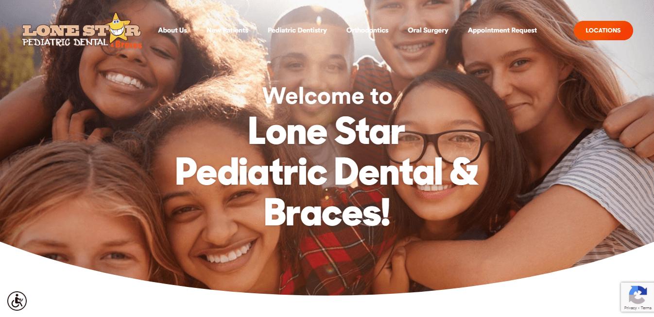 Best Dentist Website for Lone Star Pediatric Dental & Braces