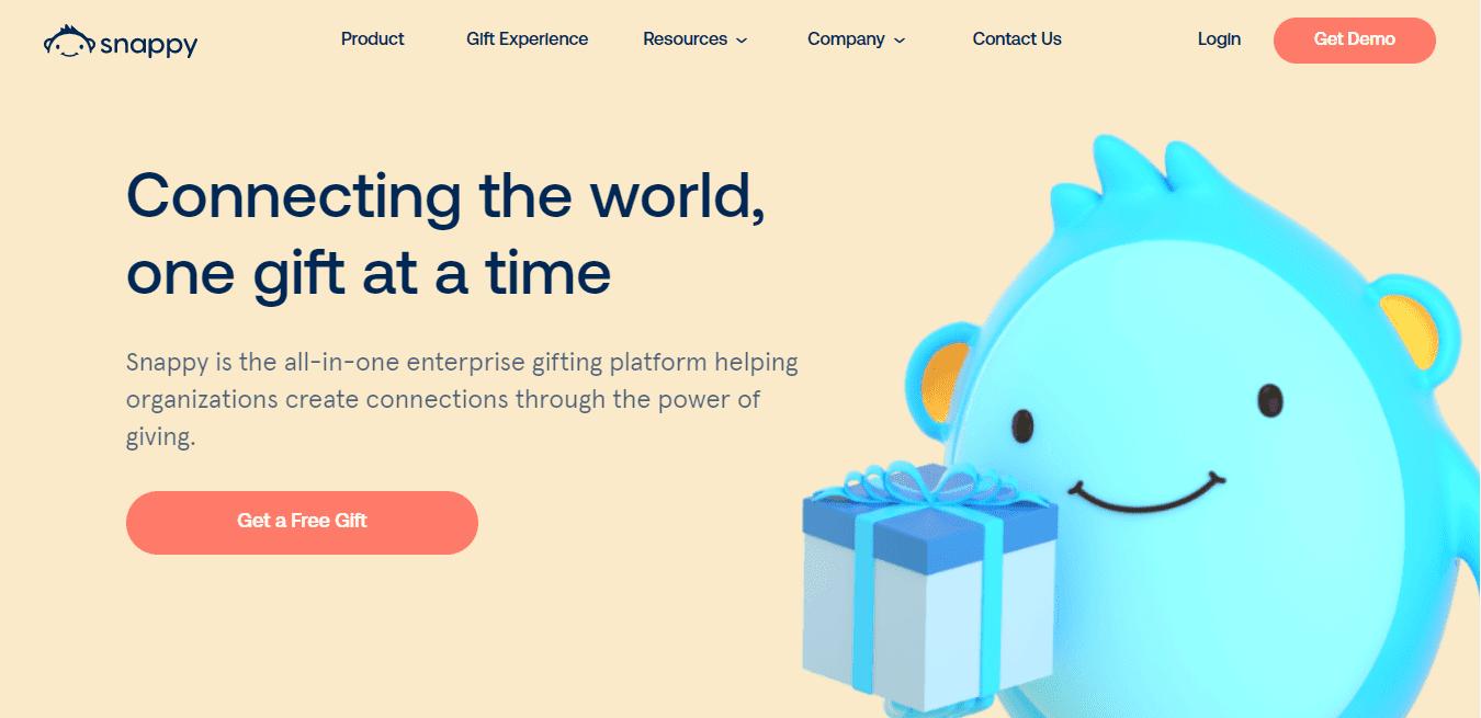 Best Enterprise Business Website for Snappy App, Inc.