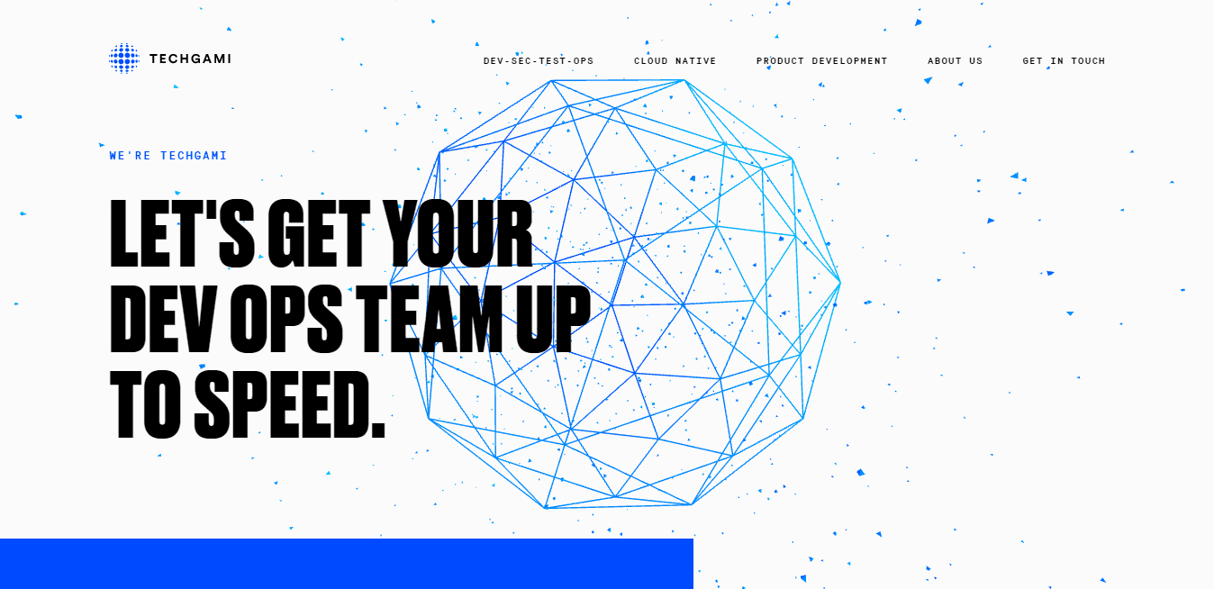 Best Enterprise Business Website for Techgami