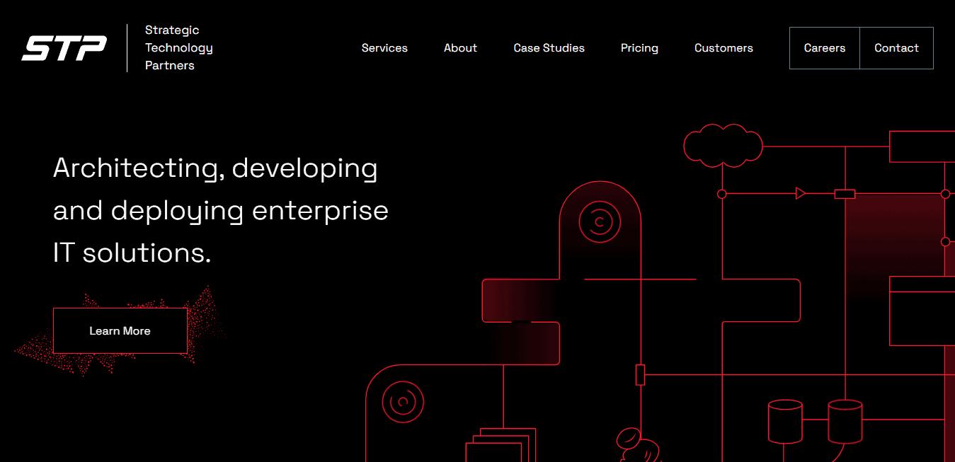 Best Enterprise Business Website for Strategic Technology Partners LLC