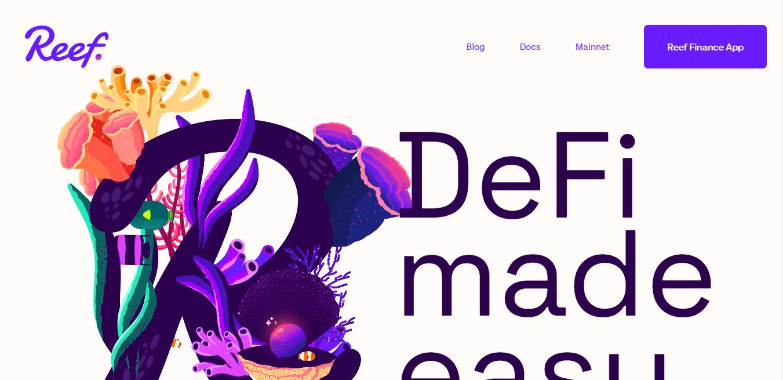 Best Finance Website for Reef Finance